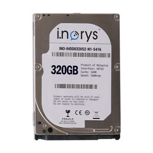 i-norys-320GB-2-5-034-9-5mm-SATA2-Notebook-HDD-Festplatte-5400RPM-16MB-Cache