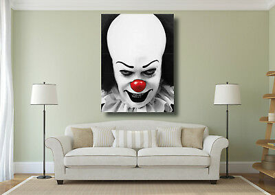 Stephen Kings IT Clown Vintage Movie Poster A4 Sizes A1 A3 A2