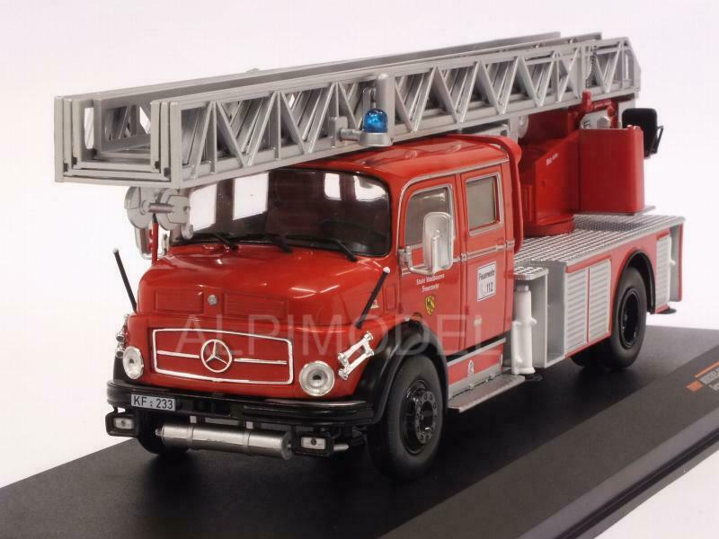 Mercedes L1519 German Fire Brigades 1 43 IXO TRF002