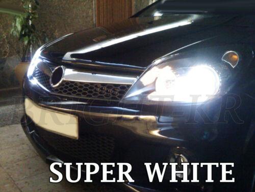 lumineux tête lumière lampe ampoules Xenon Blanc Pur Vauxhall Astra H 2004