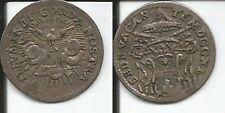 SEDE VACANTE RARO GROSSO 1740 ROMA ARGENTO