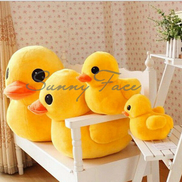 Useful Yellow Duck Stuffed Animal Plush Soft Toy Doll Pillow Xmas Gift UR