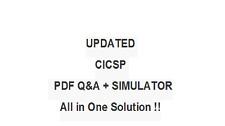 Cisco IronPort Certified Security Professional (CICSP)    EXAM QA PDF&Simulator
