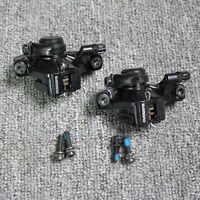 Shimano Br-m375 Mechanical Disc Brake Set F&r+g3/hs1/rt56 160mm Rotors W/bolts