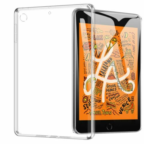 "Clear TPU Silicon Transparent Gel Case Cover For Apple iPad Mini 1 2 3 4 5 7.9/"""