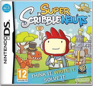 Super-Scribblenauts-NDS-Nintendo-DS-Lite-DSi-XL-Brand-New
