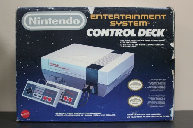 Original Nintendo Entertainment System Control Deck w/box