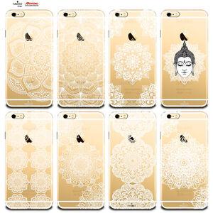 Custodia-Cover-Design-Fiore-Mandala-Per-Apple-iPhone-4-4s-5-5s-5c-6-6s-7-Plus-SE