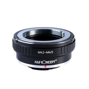 K-amp-F-Concept-M42-Lens-to-Micro-4-3-Camera-Mount-Adapter-for-Olympus-Panasonic-SLR