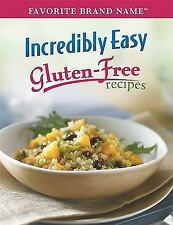 Incredibly Easy Gluten-Free Recipes ~ Pizza, Cookies + Hardcover Spiral ~ LN