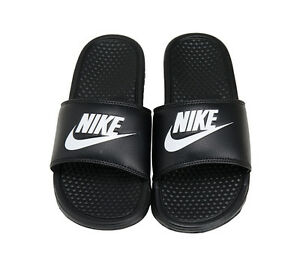 size 40 3e276 a0bb6 Image is loading Nike-Benassi-JDI-Slides-343880-090-Sports-Sandals-