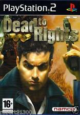 JEU PS2../...DEAD TO RIGHTS...........
