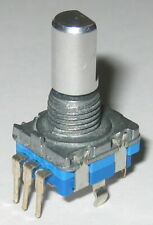 Cui Rotary Encoder With Momentary Switch 12 Detents 360 Degree Pcb Mount