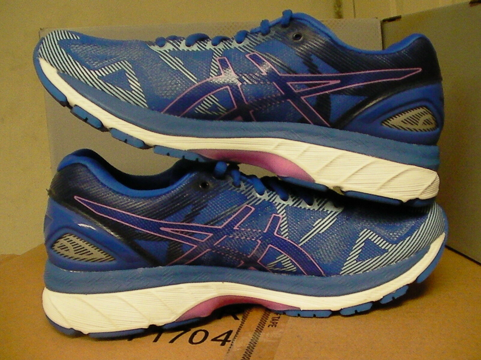 Asics women's gel nimbus 19 19 19 bluee purple purple running shoes size 8 us 58c9c4