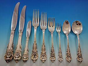 sir christopher von wallace sterling silber besteck set 113 teilig dinner größe große