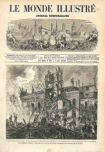 POMPIER-INCENDIE-PARIS-Opera-Le-Peletier-1873-GRAVURE-ANTIQUE-PRINT