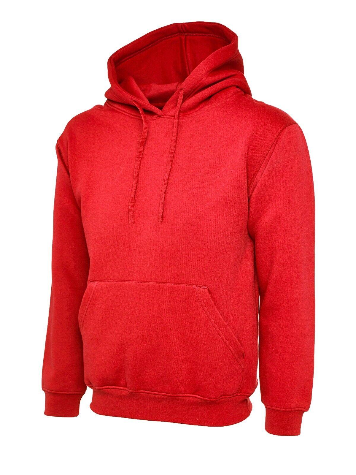 awdis heavyweight hoodie JH101 Red size M