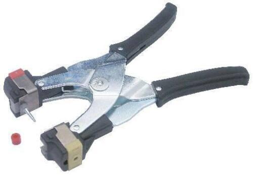 Ohrmarkenzange für MultiFlex Ohrmarken mit grauem Einsatz