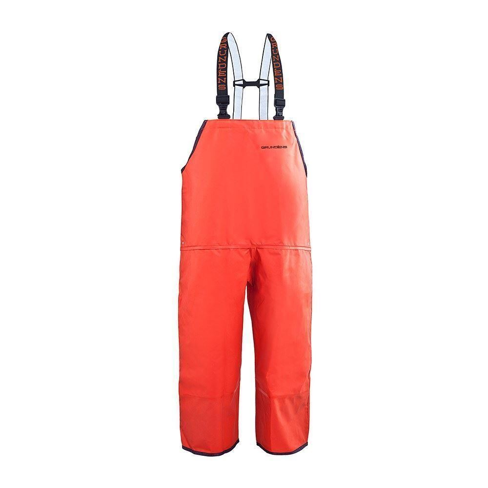 Grundens Harvestor Latzhose - Orange (M)