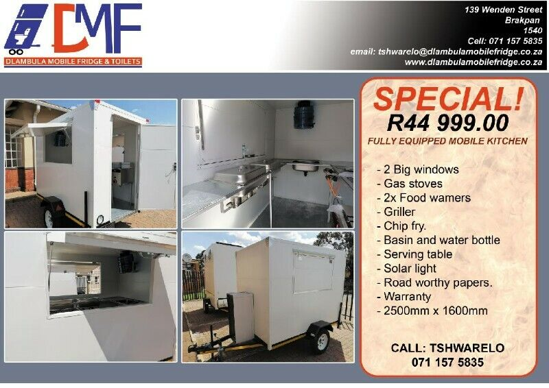 Mobile Kitchen/Food Trailers For Sale.