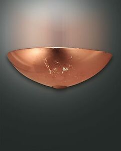 Retrofit-Fabas-Luce-Lampada-Parete-Reale-1flg-3316-21-322-Foglio-Di-Rame