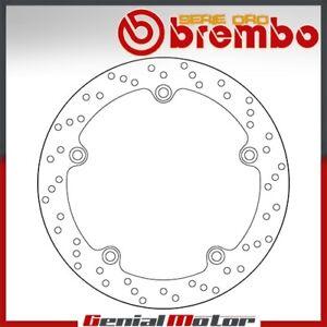 Disco Freno Fisso Brembo Oro Posteriore per Bmw R 1150 Rt Abs 1150 2001 > 2005