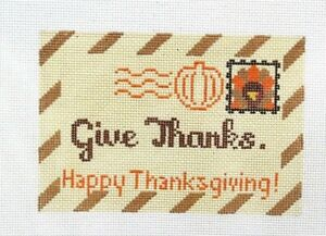Rachel-Donley-Thanksgiving-Special-Delivery-Handpainted-Needlepoint-Canvas