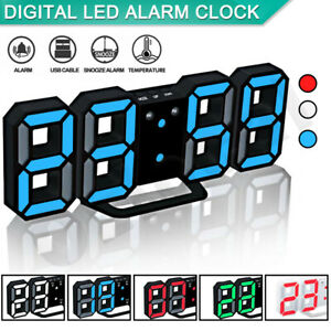 Digital-LED-Wall-Clock-Light-Table-Watch-24-12-Hour-Display-Alarm-Temperature