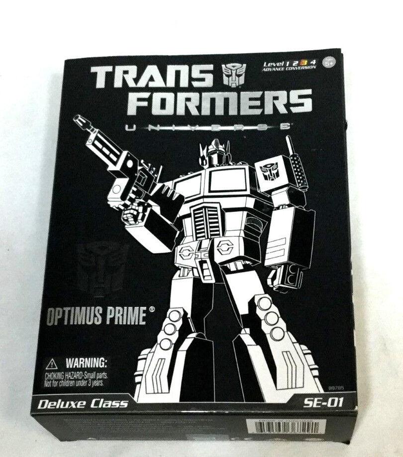 Transformatoren universum deluxe klasse se-01 optimus prime abbildung boxed versiegelt
