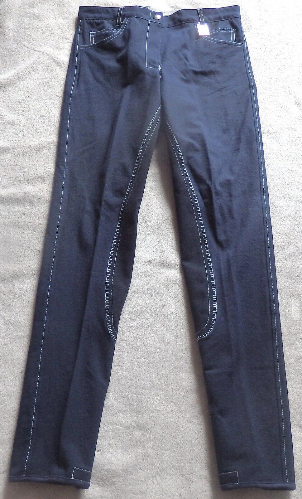 Kyron Damen Reithose mit 3/4 Vollbesatz ,blau, Roxy,Gr.80,  (18) (18)  2318ff