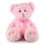 MAXI-MAX-PINK-TEDDY-BEAR-35CM-I-Birthday-Presents-Baby-Shower-Cuddly-Toys thumbnail 1