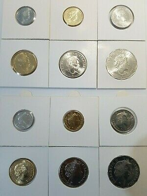2019 12coins IRB /& JC Unc 6 coin sets 5c 10 20 50 $1 MOR $2 in 2x2 ex RAM bags