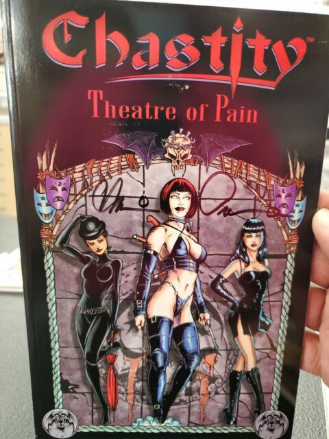 Chastity: Theatre Of Pain Signed by Brian Pulido (Trade Paperback)