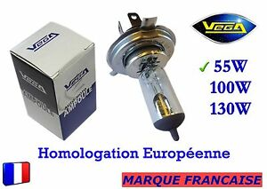 Ampoule-Halogene-VEGA-034-MAXI-034-Marque-Francaise-H4-55W-Auto-Moto-Phare-Avant