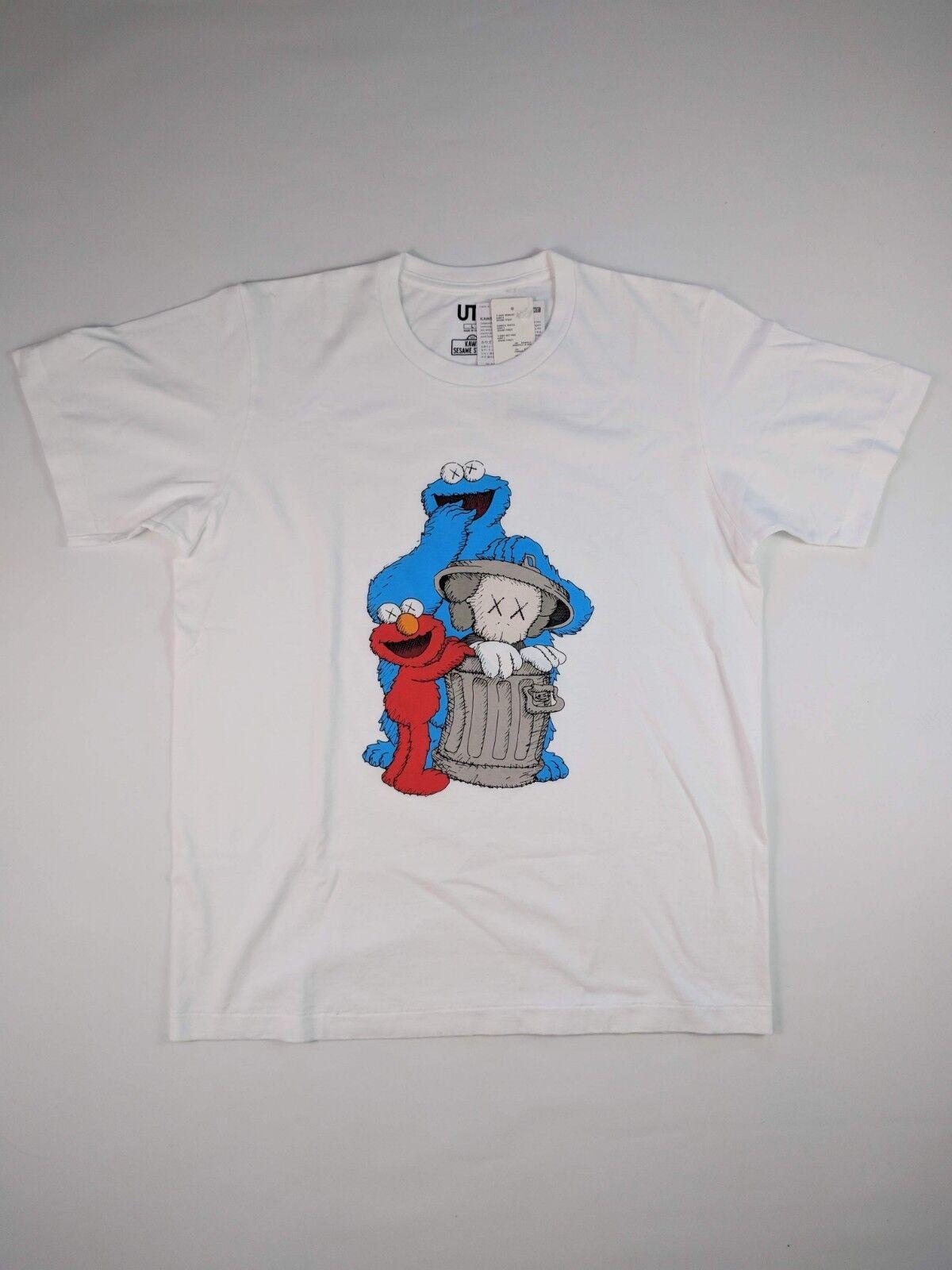 Kaws Sesame Street T-hemd Weiß XS