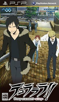 Used PSP Durarara!! 3way Standoff: Alley  Japan Import ((Free shipping))