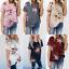 Plus Size Women/'s Blouse Short Sleeve Floral Print T-Shirt Comfy Casual Tops Hot