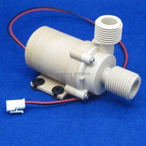 Solar 12V 24V DC Hot Water Circulation Pump Brushless Motor Water Wasserpumpe
