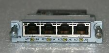 Cisco WIC-4ESW 4-Port 10/100 Fast Ethernet Switch For 1700 Series Routers 1760