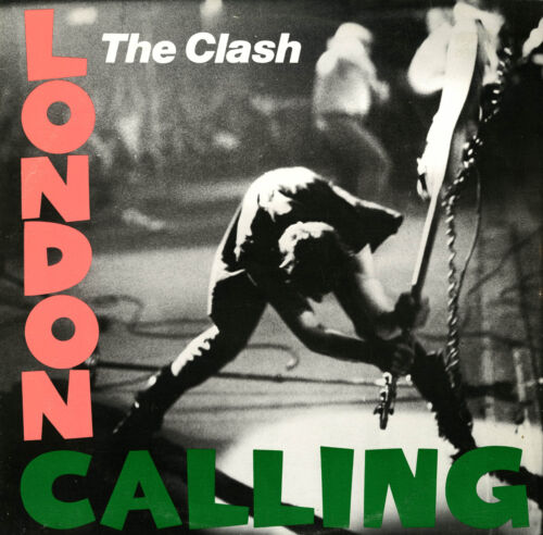 """Iconic Album Retro Poster A1 A2 A3 A4 Sizes The Clash. /""""LONDON CALLING/""""."""