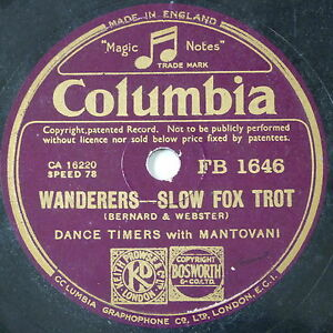 78-record-in-frame-WANDERERS-WHEN-A-KISS-IS-NOT-A-KISS-mantovani
