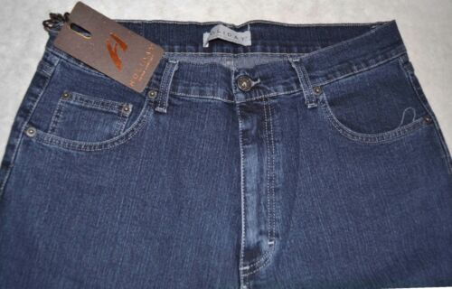 Jeans uomo Taglia 46 48 50 52 54 56 58 60 HOLIDAY Tela elasticizzata blu CHAN