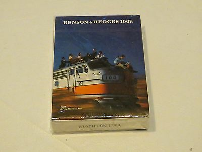 Benson & Hedges poker size 1995 cards playing gambling NEW RARE collectible