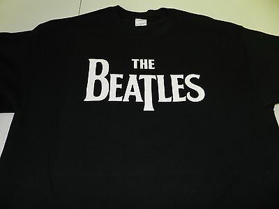 The Beatles T Shirt Tee John Paul George Ringo Retro Fab Four Rock And Roll