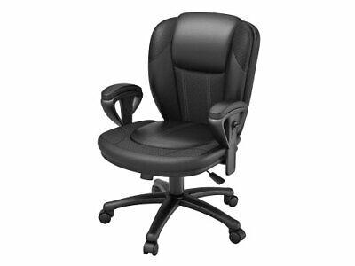 Z Line Designs Manager Chair Black Bonded 846158003513 Ebay