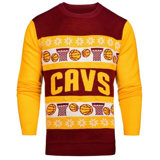 NBA Light Up Ugly Sweater Cleveland Cavaliers XX-Large | eBay