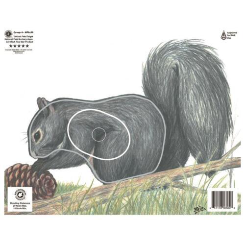 Maple Leaf nfaa écureuil cible
