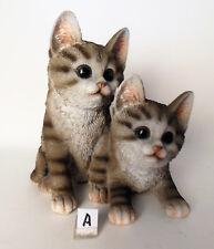 Formano Deko Skulptur Figur Katzenkinder 19 cm gross Katze