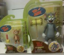 "Hanna-Barbera Action Figures Tom & Jerry 6"" 3"" MOC Jazwares MIP Hammer Cheese"