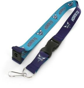 CHARLOTTE-HORNETS-REVERSIBLE-LANYARD-BRAND-NEW-BASKETBALL-NBA-LN-162-33